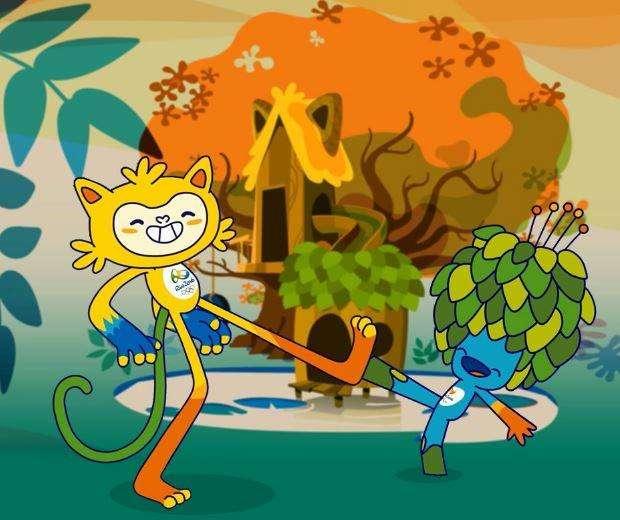 Los más votados como propuesta de mascota fueron Vinicius y Tom. Foto: Twitter.