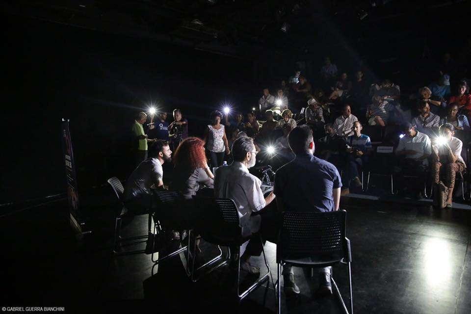 Conferencia de prensa del Festival Contratenores del mundo. Foto: Gabriel Guerra Bianchini.