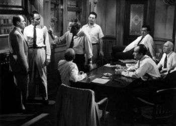 Doce hombres en pugna (1957) de Sidney Lumet.