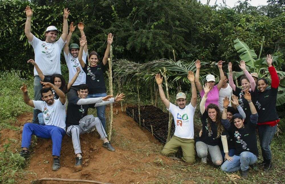 Planta! en trabajo de campo. Foto cortesía del entrevistado.
