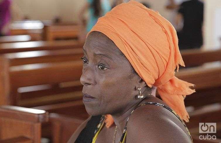 Delsy Margarita Legrá Quiroga opina que Matthew fue un tsunami. Foto: Denise Guerra