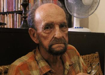 Leonardo Acosta. Tomada en agosto de 2015. Foto: Yoe Suárez.