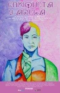 Cartel del documental Enriqueta y Adela, de Rolando Almirante.