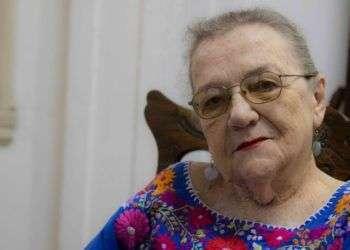 Adelaida de Juan, Premio Internacional AICA a la Contribución Distinguida a la Crítica de Arte. Foto: Ismario Rodríguez.