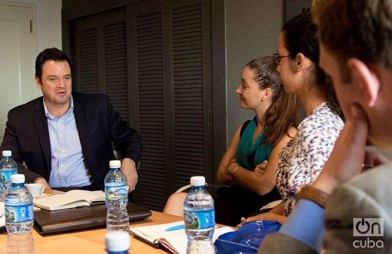 José Zapata in OnCuba. Photo: Ismario Rodríguez.
