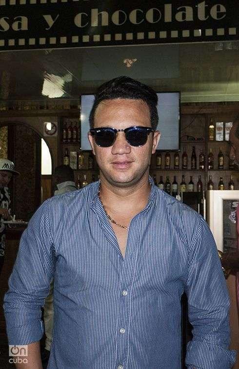 Maykel Blanco opina que el concierto del sábado será trascendental para su orquesta. Foto: Yelanys Hernández Fusté.