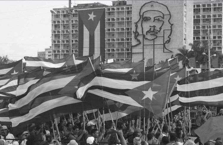 Marcha por Día Internacional del Trabajo en el 50 aniversario de la Revolución, 2009.