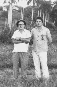 René Batista y Samuel Feijóo. Foto: Cortesía del autor.