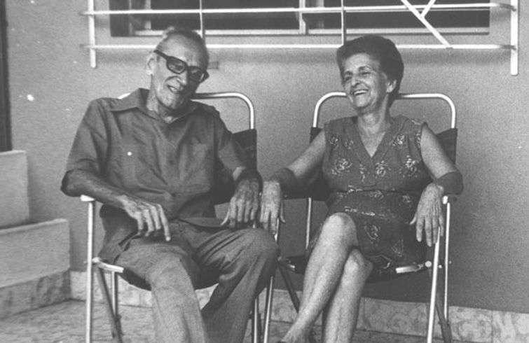 José Soler Puig y su esposa Chila. Foto: Periódico Juventud Rebelde