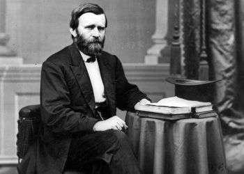 Ulises S. Grant, presidente de los Estados Unidos entre 1869 y 1877.