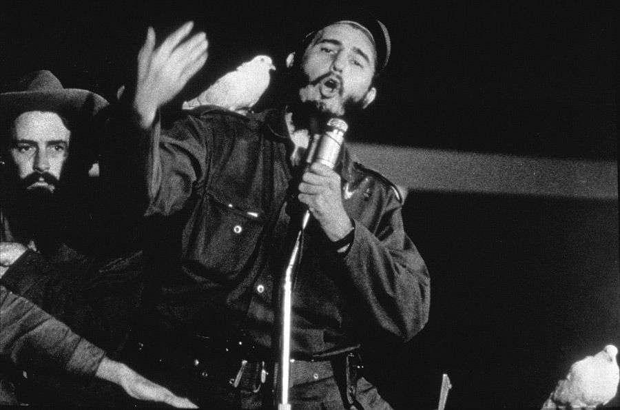 Fidel Castro, 8 de enero de 1959. Foto: Flip Schulke.