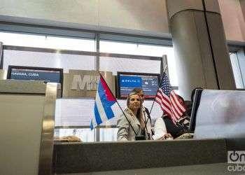 Delta reanuda vuelos directos a Cuba. Foto: Osbel Concepción.