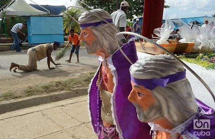 Por fe a San Lázaro. Foto: Otmaro Rodríguez.