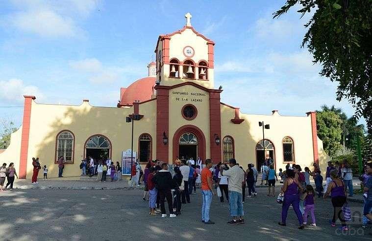 El Rincón, Santuario Nacional de San Lázaro, en Boyeros, La Habana. Foto: Otmaro Rodríguez / Archivo.