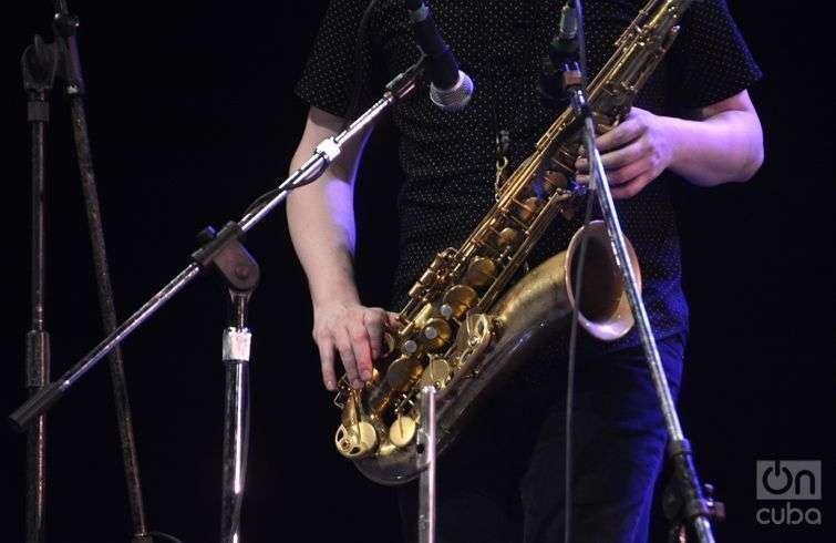 Snarky Puppy cerró el domingo último la 32 edición del Festival Internacional Jazz Plaza. Foto: Regino Sosa.