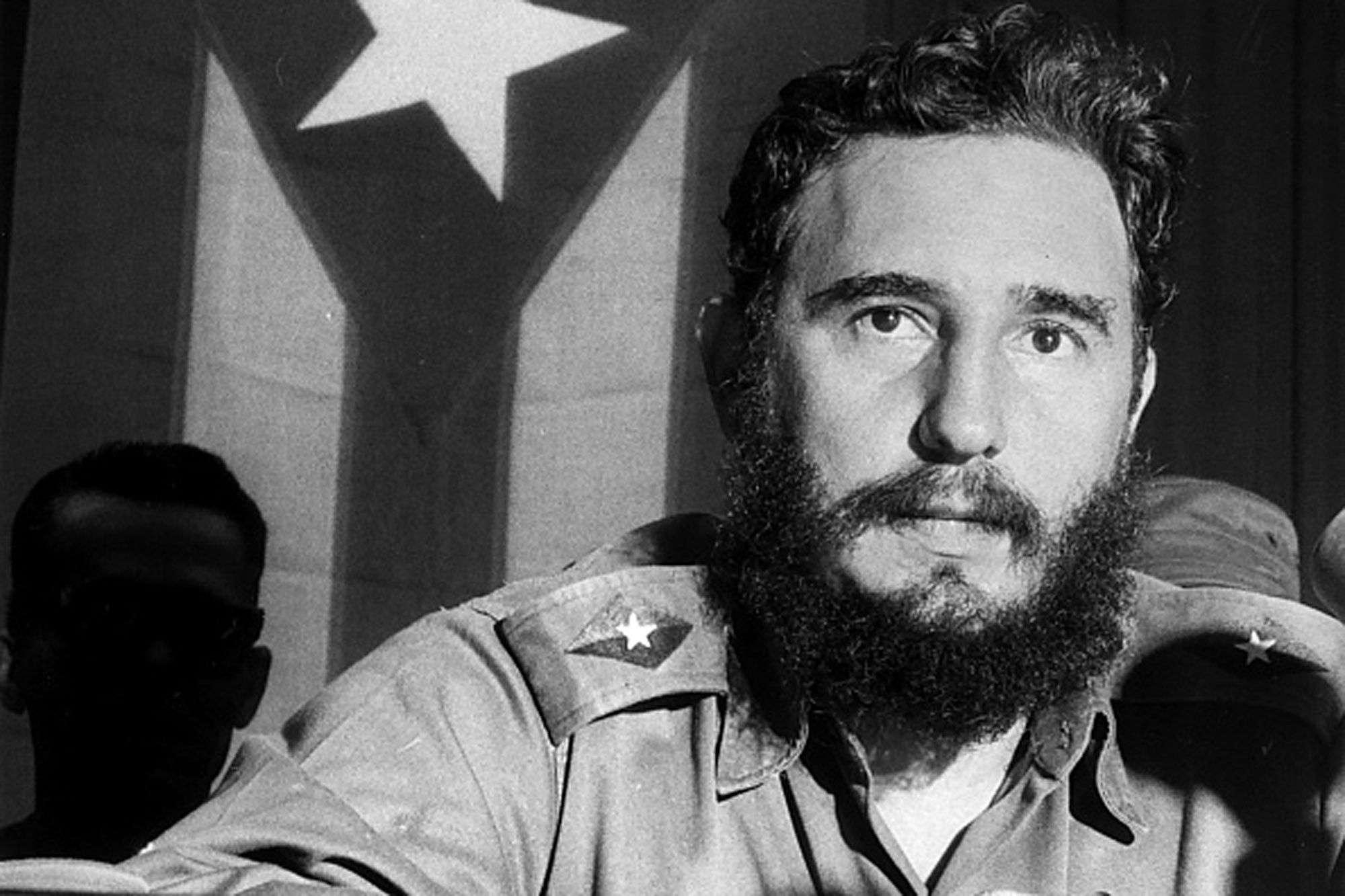 El fallecido expresidente Fidel Castro, tras el triunfo de la Revolución Cubana. Foto. Archivo.