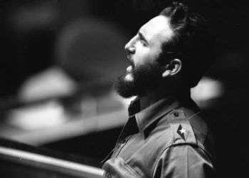 Fidel Castro en Naciones Unidas, 1960.