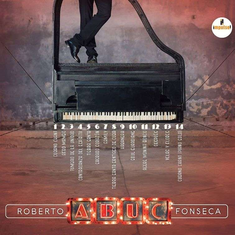 Portada del disco ABUC de Roberto Fonseca.