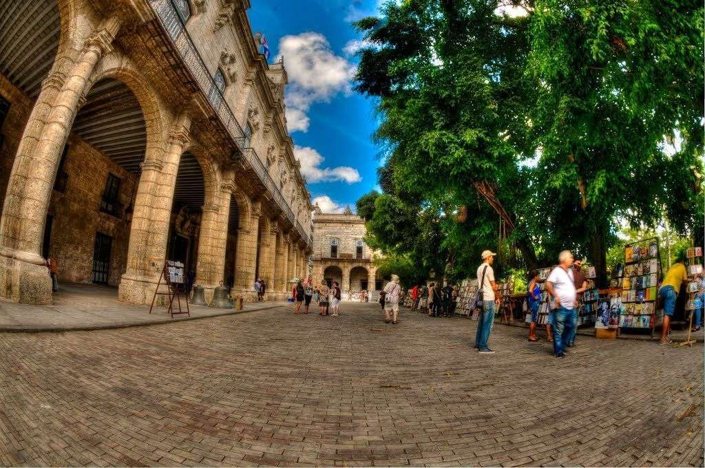 Calle de Madera. Foto tomada de Arquitectura Cuba.