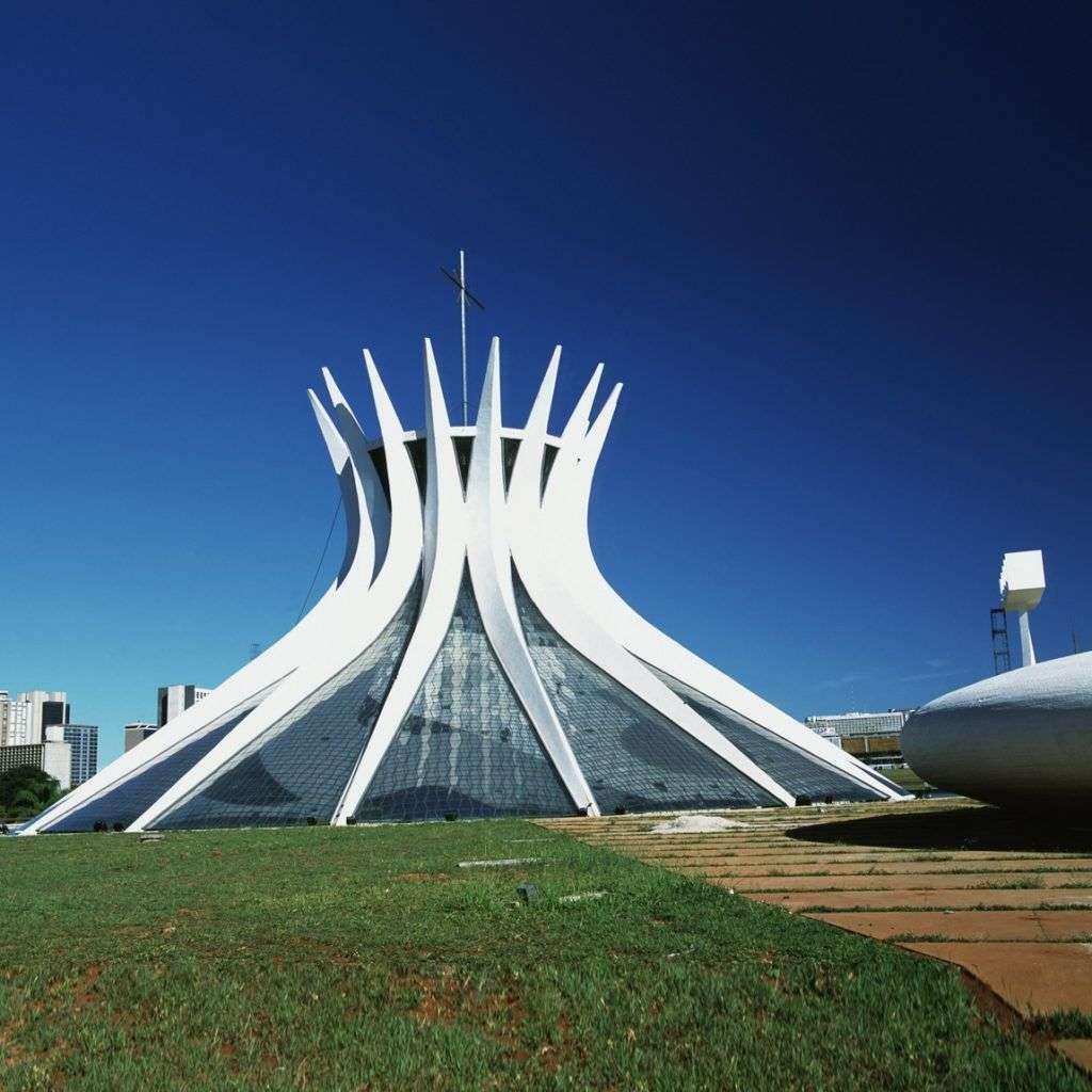 Catedral de Brasilia. Oscar Niemeyer.
