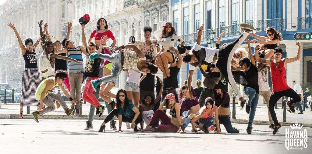 Compañía Havana Queens. Foto tomada de www.dance-mag.com.