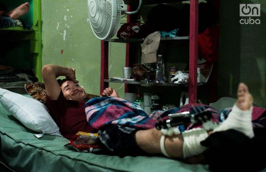 "Carlitos jokes: ""Hey there, by now I'm also Cuban."" Photo: Irina Dambrauskas."