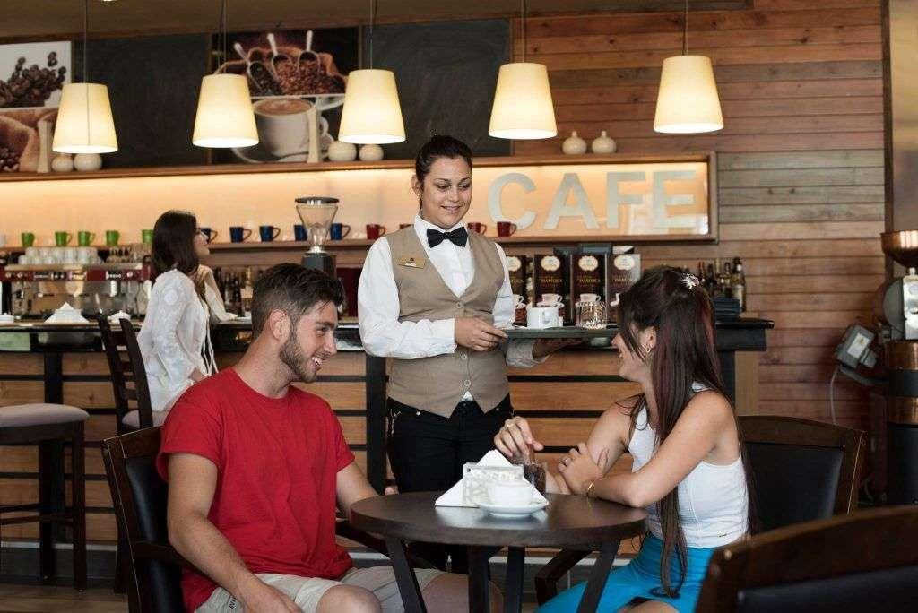 """""""La Isabélica del Café· Plaza Las Morlas, en Varadero."""