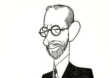Mario García Menocal. Caricatura: Rogali.