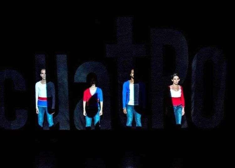 """""""Cuatro"""", de Teatro de las Estaciones. Foto: Sonia Almaguer."""