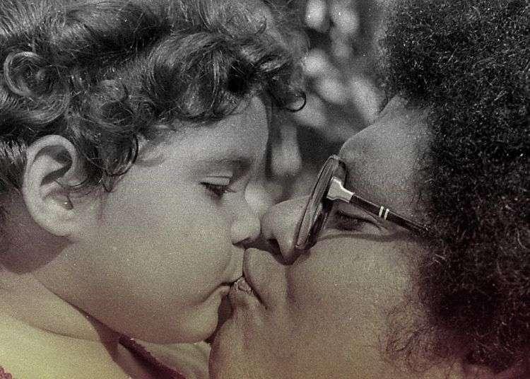Haydée y Pablo Milanés. Foto: Cortesía de Haydée Milanés.