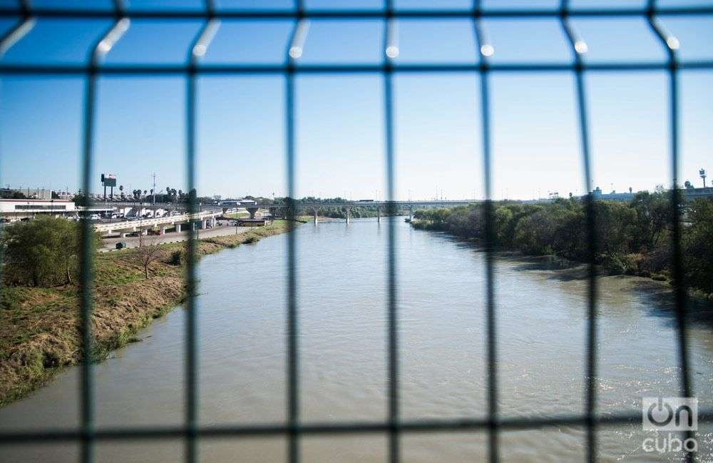 The Rio Grande, which they all want to cross on a one-way trip. Photo: Irina Dambrauskas.