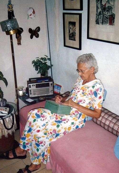 Olga Villegas. Foto cortesía de Juan Carlos Roque.