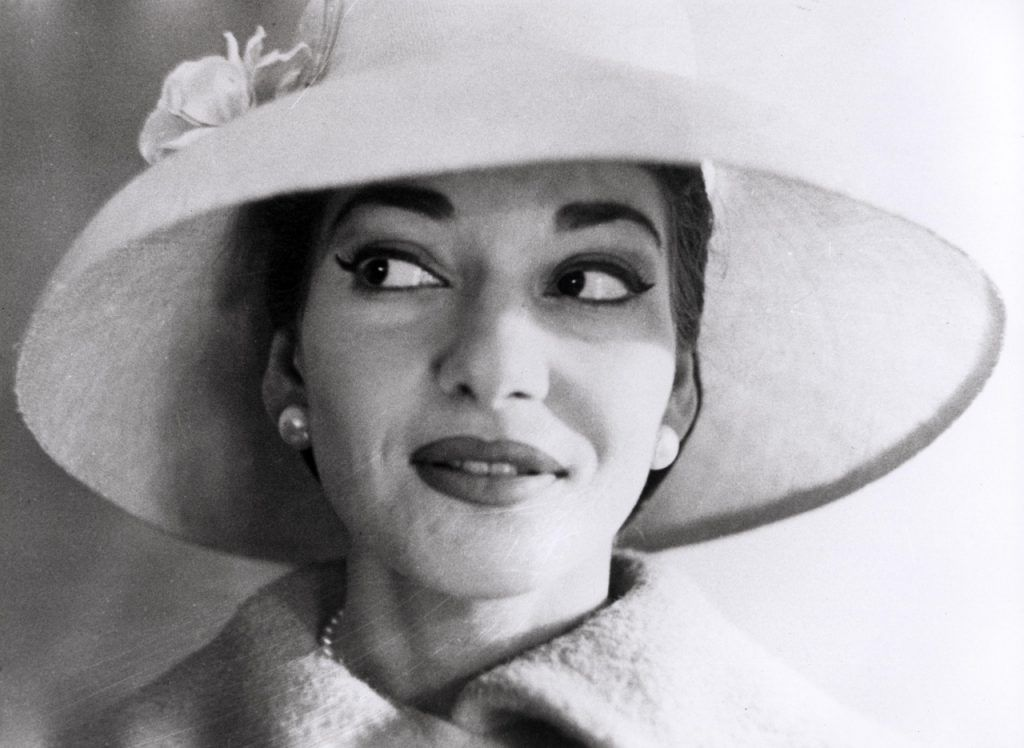 Maria Callas. Foto tomada de Pinterest.
