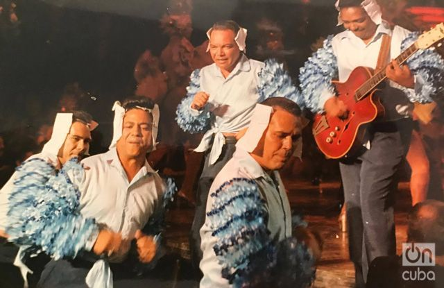 """Rodaje de """"Zafiros, locura azul"""". Foto: Cortesía de Hugo Cancio."""