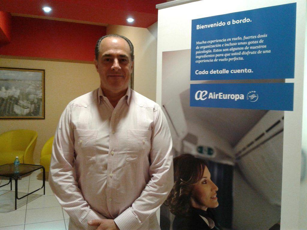 Paco Pérez, Director Regional del Caribe del grupo Globalia. Foto: Darcy Borrero.