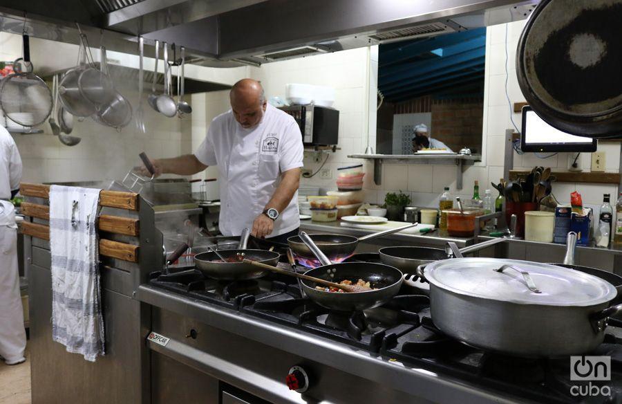 Luigi, el chef. Foto: Ismario Rodríguez.