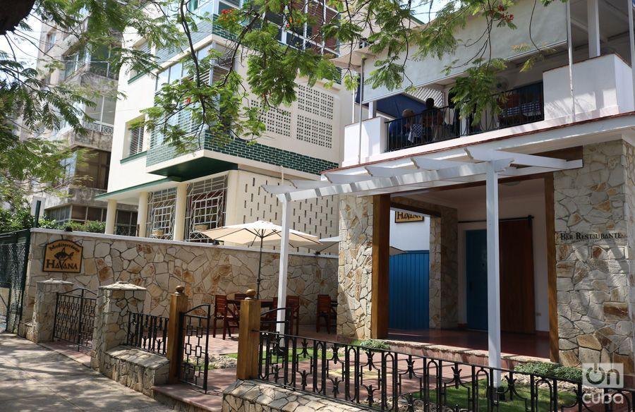 El Restaurante Mediterráneo Havana, tiene además una terraza y un reservado muy familiar que gustan muchísimo. Foto: Ismario Rodríguez.