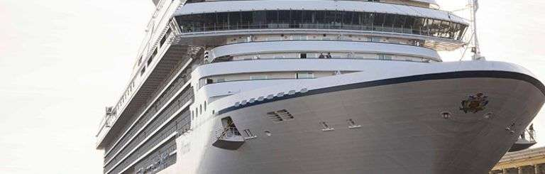 El Marina, primer crucero de Norwegian Cruise Line Holdings en viajar a La Habana. Foto: Claudio Peláez Sordo.