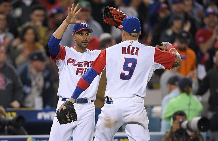 Puerto Rico ha brillado en el Clásico. Foto: @WBCBaseball.