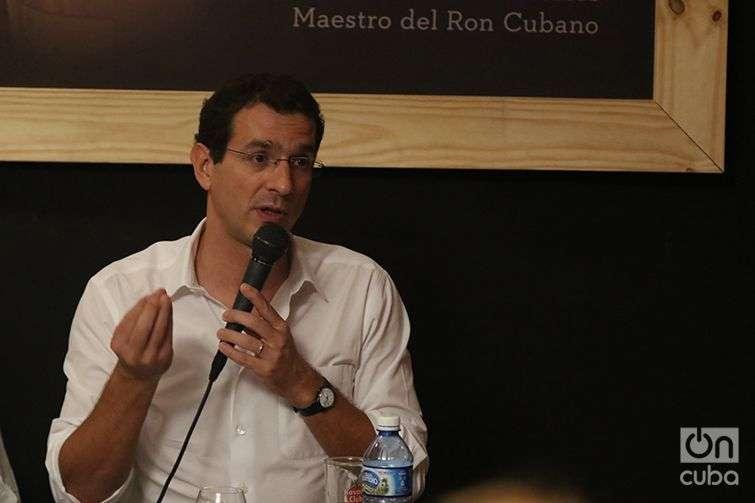 Jérome Cottin-Bizonne, director general de Pernod Ricard. Foto: Ismario Rodríguez.