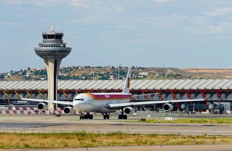 Aeropuerto Internacional Adolfo Suárez, Barajas, Madrid. Foto: El país.