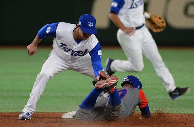 Israel venció a Cuba en su primer enfrentamiento en Clásicos Mundiales. Foto: Ricardo López Hevia.
