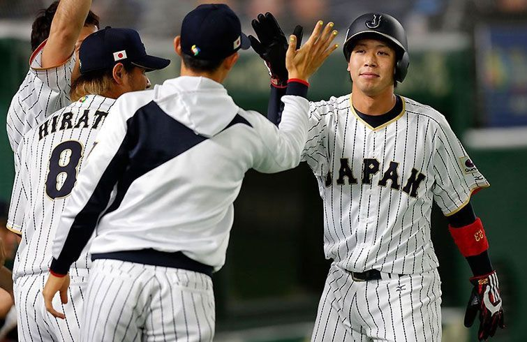 Japón repitió su triunfo sobre Cuba y está prácticamente en semifinales. Foto: @WBCBaseball/Twitter.