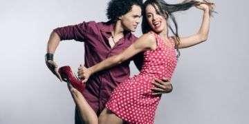 Jara y Osmany. Foto: Sitio oficial de Bailando en Cuba.