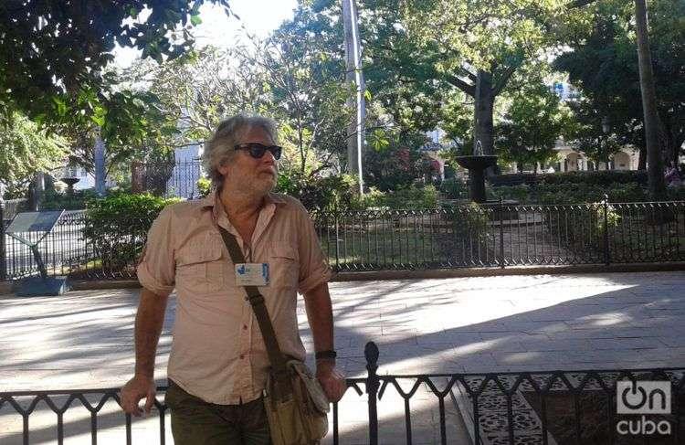 Carlos Frabetti en La Habana. Foto: Marianela Alfonso.