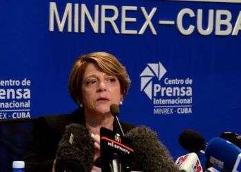 Maria Grazia Giammarinaro. Foto: Joaquín Hernández/Trabajadores.