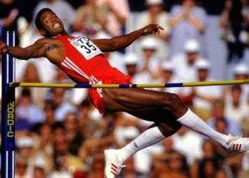 Javier Sotomayor podría perder su récord mundial en salto alto. Foto: swingcompleto.com.