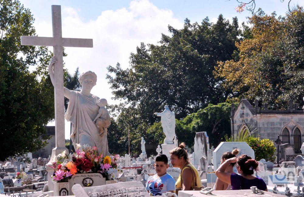 La Milograsa en el Cementerio Colón. Foto: Luis Gabriel.