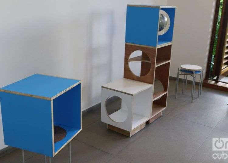 """La pieza""""Cosmos"""" de Amalia Martínez Caballero resultó ganadora del Concurso Design Havana. Foto: Ismario Rodríguez."""