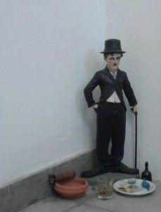 Chaplin-elegguá de Eduardo Mora. Foto: Darcy Borrero.